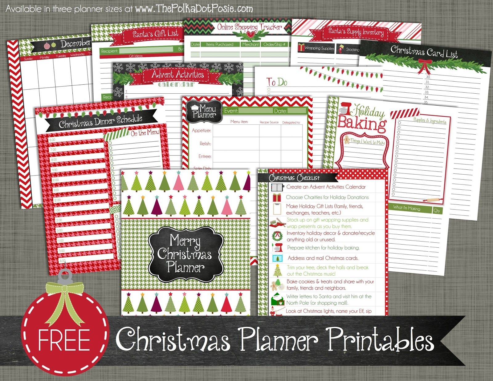Introducing Our Merry Christmas Planner