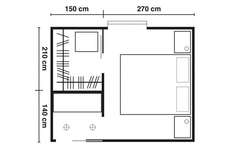 Soluzione cabina armadio wardrobe for Armadi per piccoli spazi