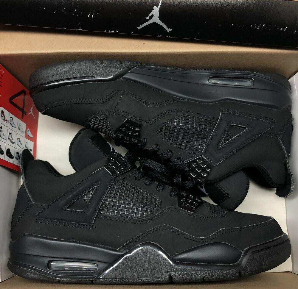 (eBay Sponsored) 2006 Jordan Retro IV 4 Black Cat Graphite