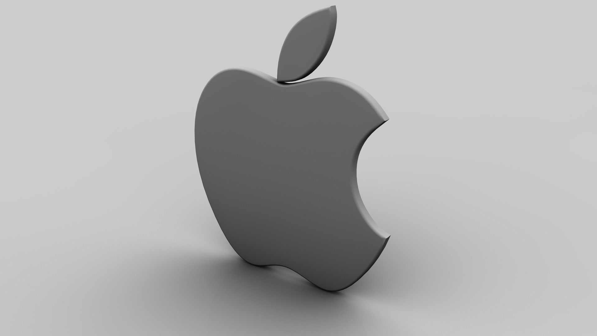 apple 3d logo wallpapers