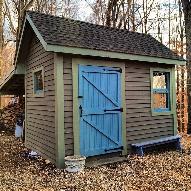 Garden Tool Wood Shed Nice Paint Content In A