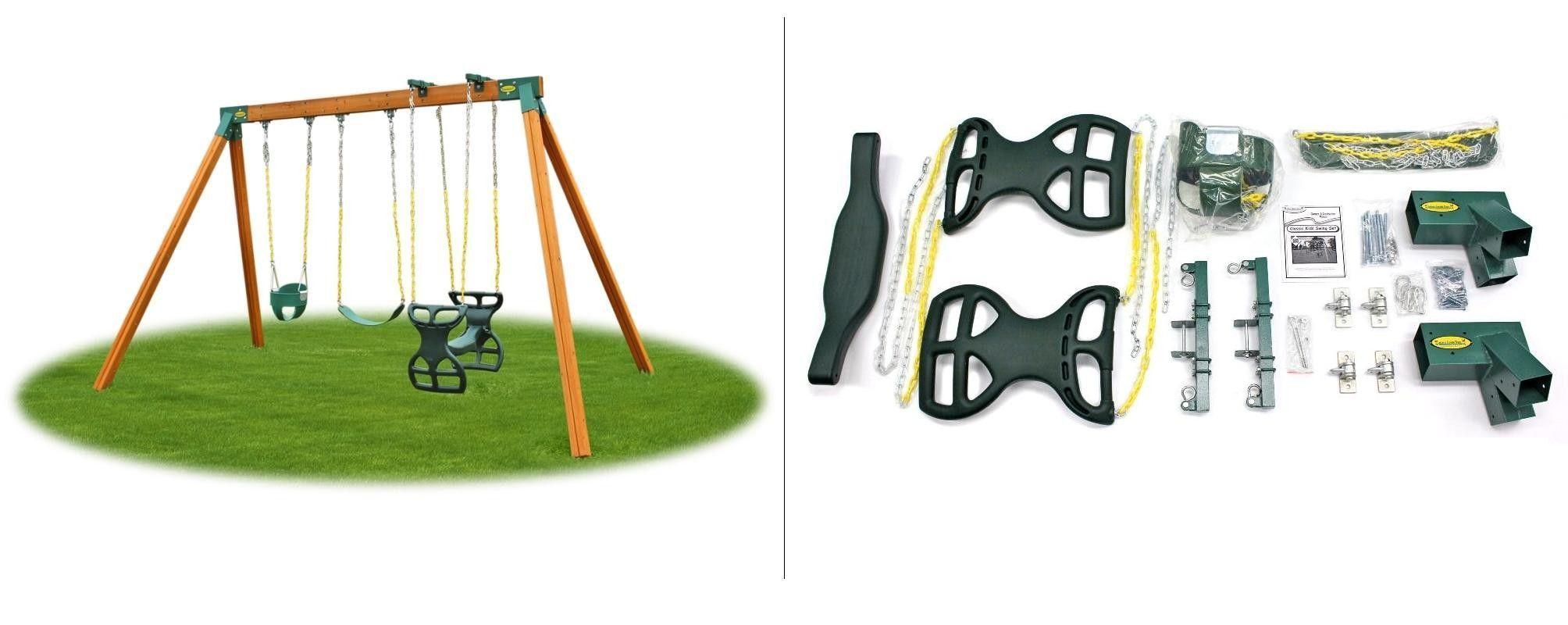 Classic kids swing set hardware kit swing sets for kids