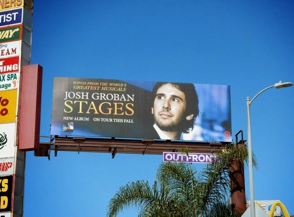 Josh Groban Stages album billboard