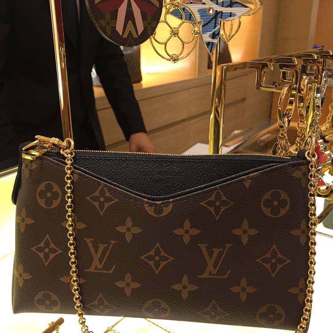 0fabaca45fde Pallas clutch 💞 Louis Vuitton Pallas Clutch, Louis Vuitton 2017, Louis  Vuitton Handbags,