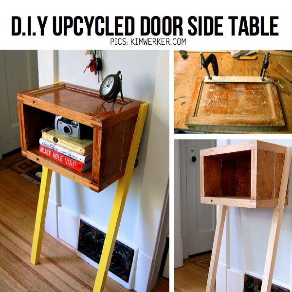 10 Stylish DIY Side Table Ideas Tutorials