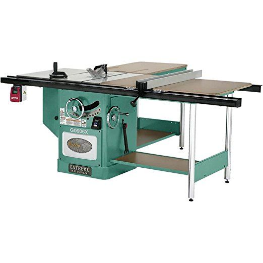 Grizzly G0606x1 3 Phase Extreme Table Saw 12 Inch Power Table Saws Table Saw Push Stick Cabinet Saw Radia Cabinet Table Saw Table Saw Grizzly Table Saw