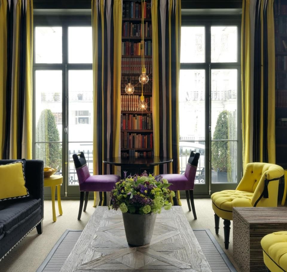 The library at Number Sixteen, London