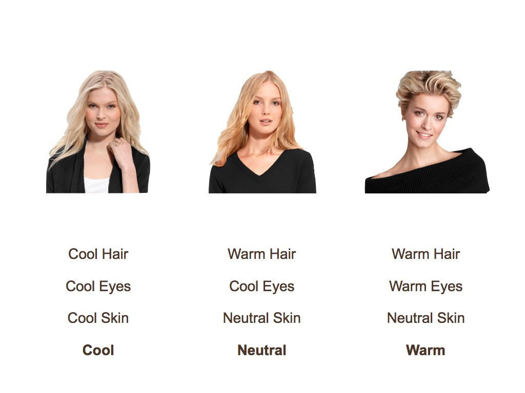 Blond Colors For Neutral Skin Tones What S Your Best Color If You Are Blonde It S Not Black Skin Tone Hair Color Neutral Skin Tone Skin Tone Color Chart