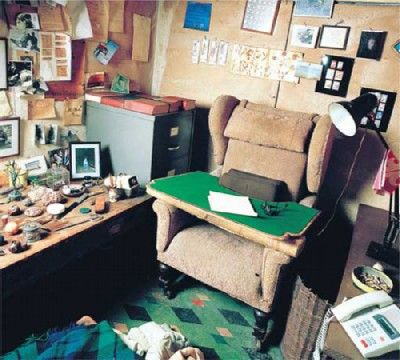 Roald Dahl Desk Famous Writers Desks And What Does Your Look Like