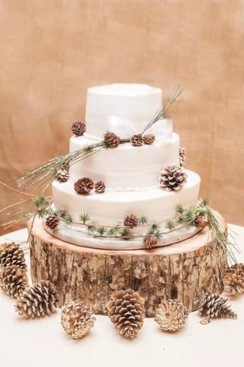 65 Simple Rustic Winter Wedding Cakes Ideas Julie S Board