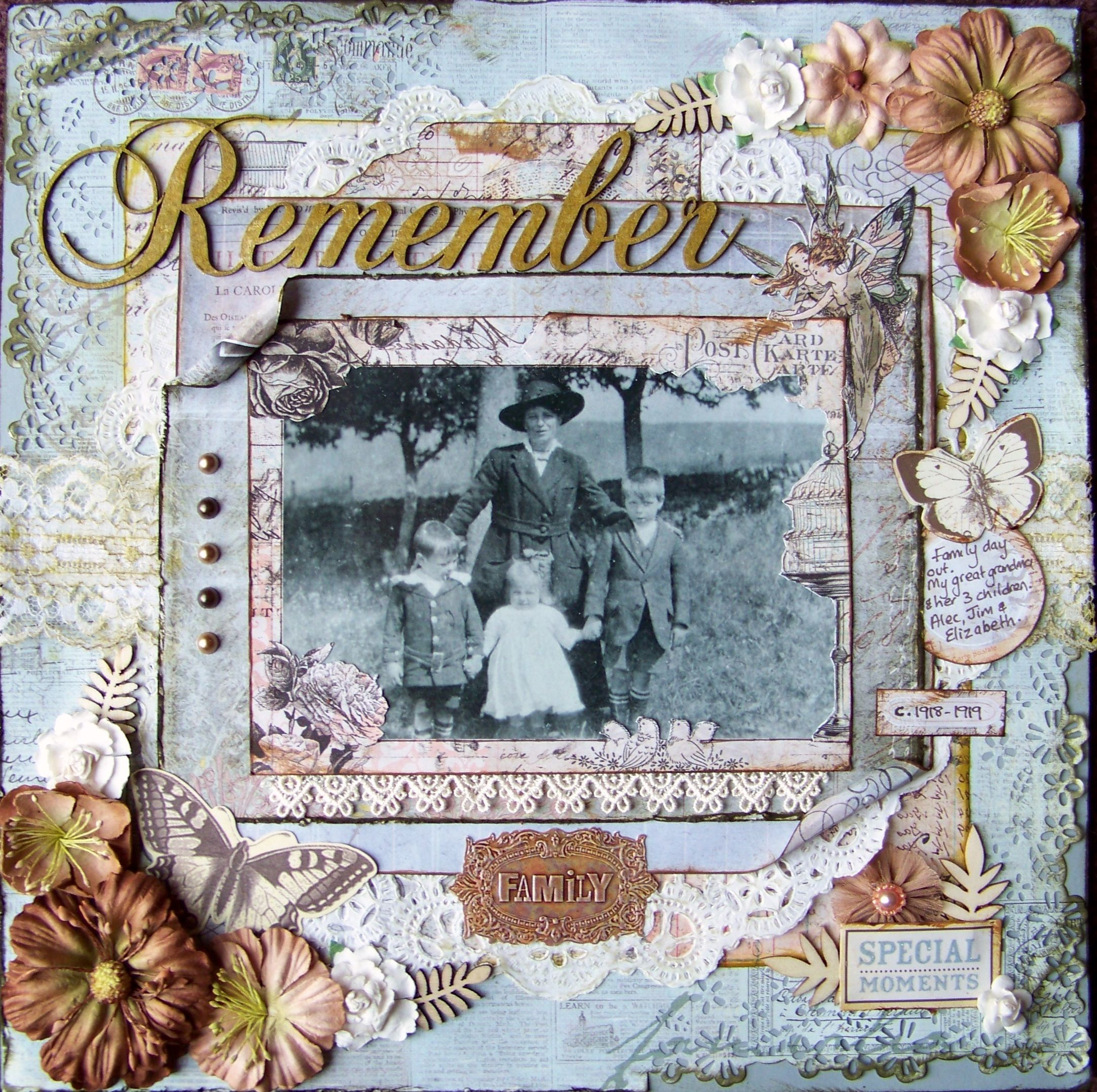 Remember Special Times - Scrapbook.com