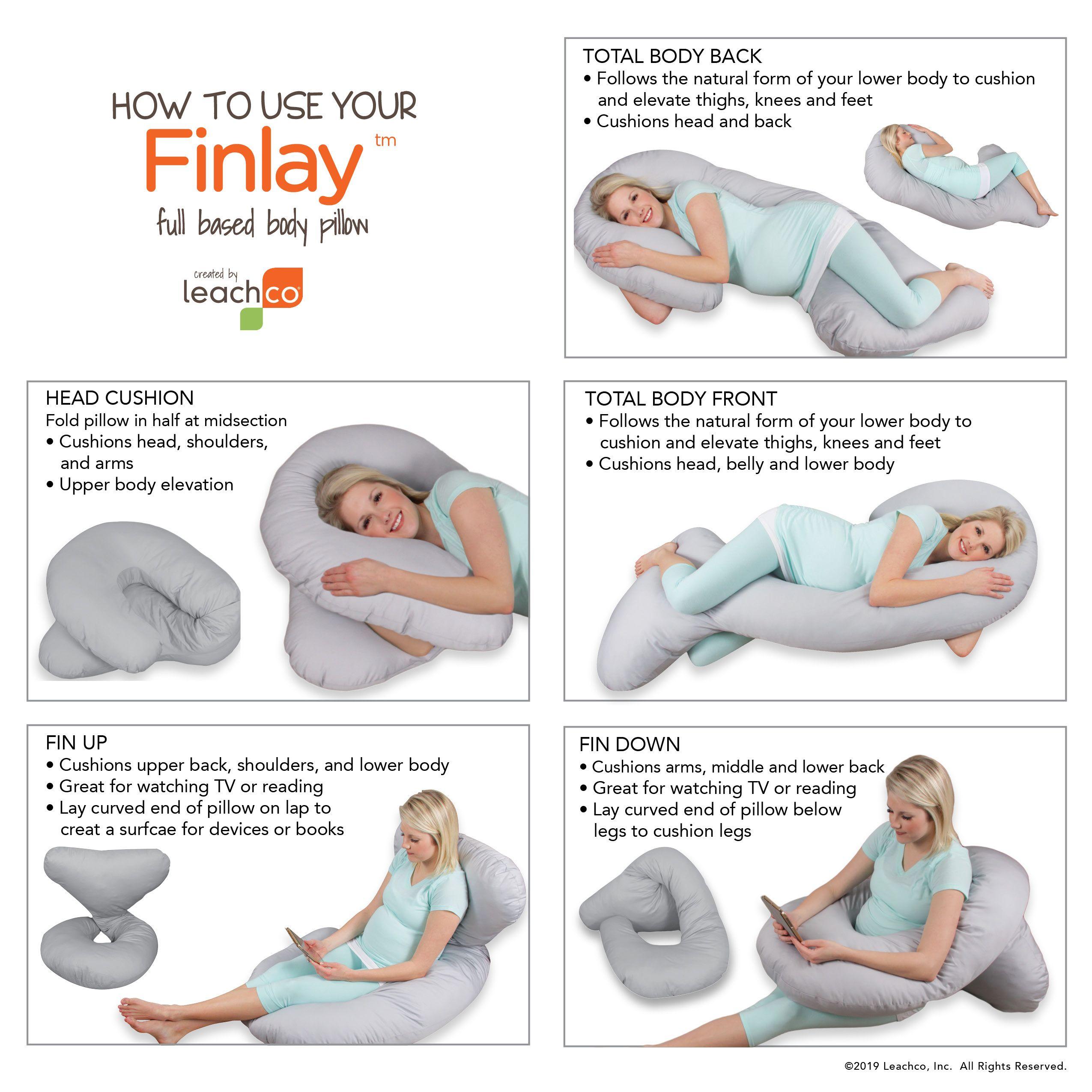Finlay Body Pillow Body Cushion Pillows