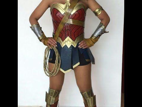 Wonder Woman cosplay costume bracelets. — inspired by Gal Gadot's bracers/gauntlets/vambraces. JkpgO