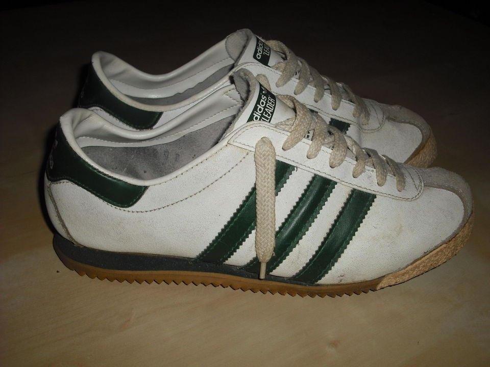 VINTAGE 1970s ADIDAS LEADER 6 MADE IN FRANCE Kick Rom Triest Amsterdam