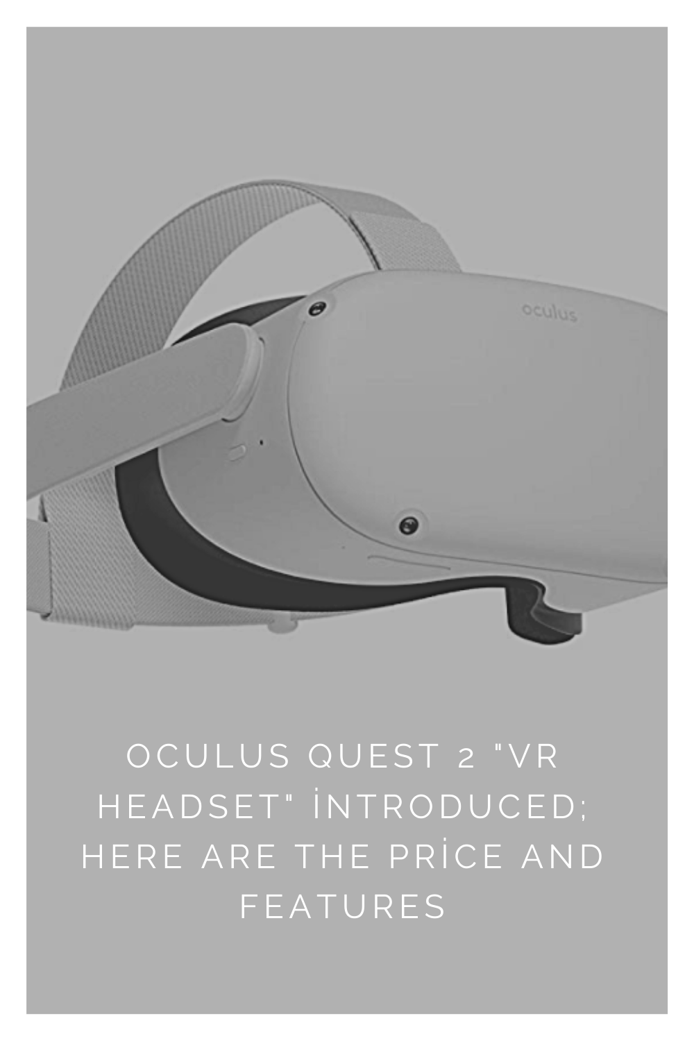 Oculus Quest 2 Vr Headset Introduced Here Are The Price And Features In 2020 Vr Headset Oculus Headset