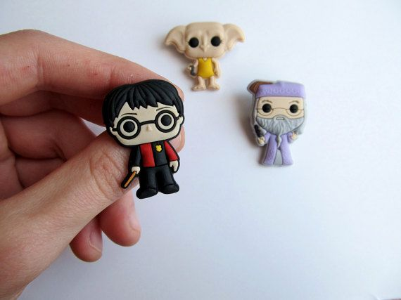 Harry Potter Badges   Pvc Pin   Party Supplies   Party Buttons   Harry  Potter Brooch