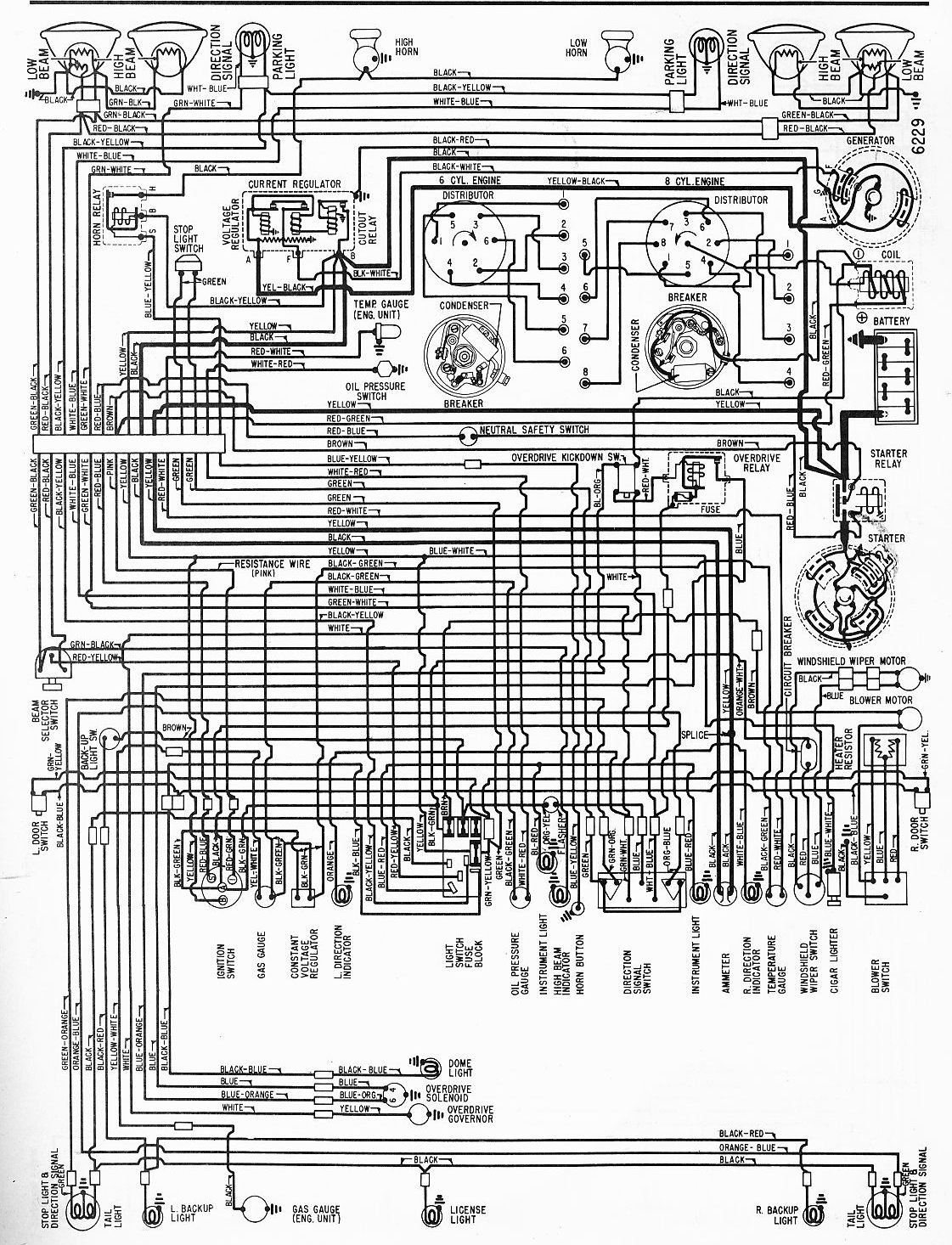1970 Chevrolet Wiring Diagram