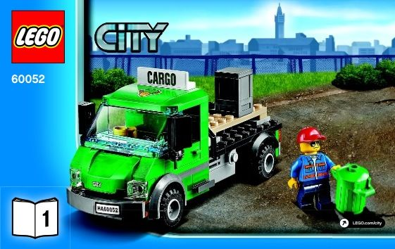 View Lego Instructions For Cargo Train Set Number 60052 To Help You
