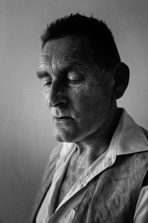 Photographer Lee Jeffries Striking Portraits Will Change: A. Scholten By Sander Troelstra