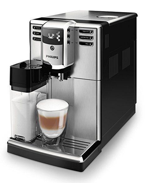 Philips 5000 Serie Ep5365 10 Kaffeevollautomat Integrierte Milchkaraffe Edelstahl Front