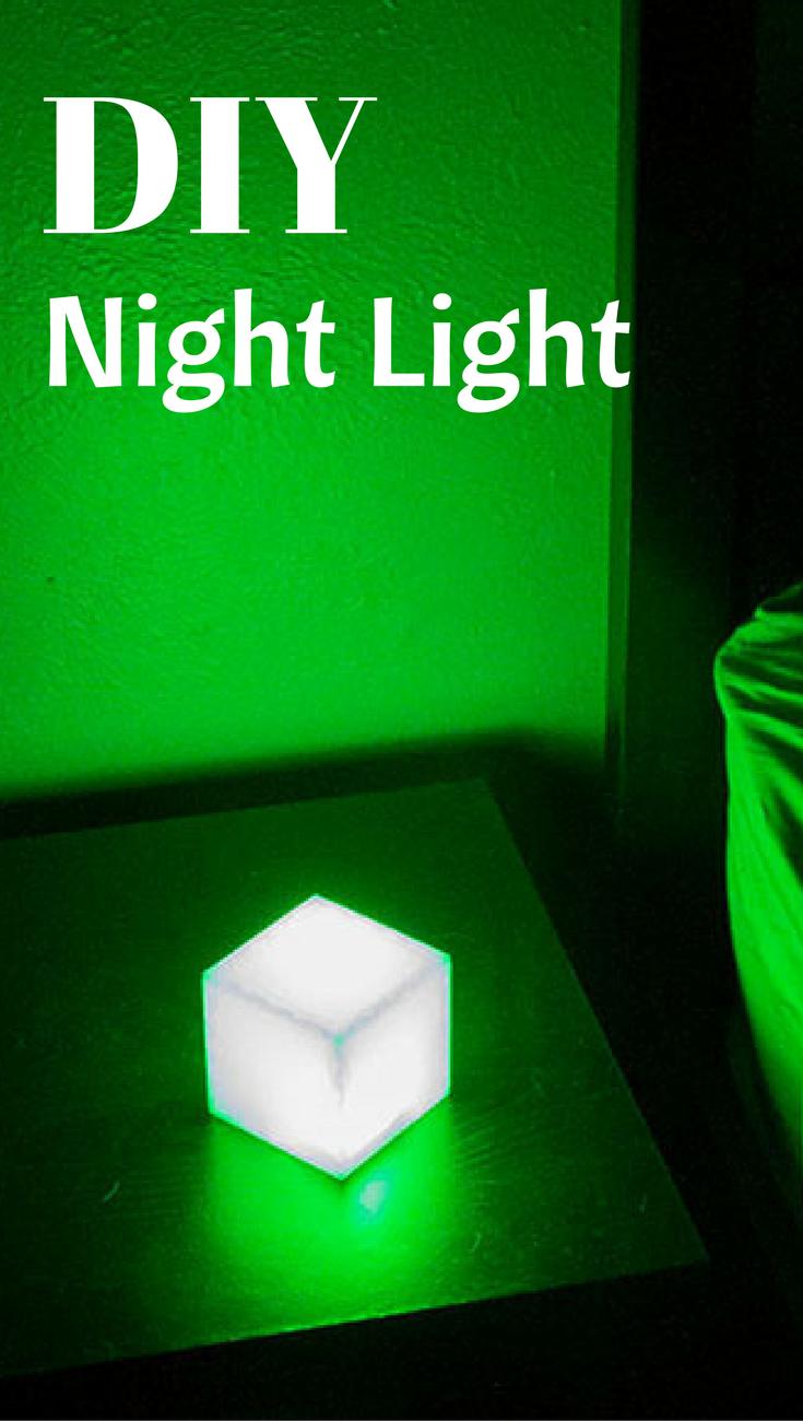 Create your own DIY Night Light Follow
