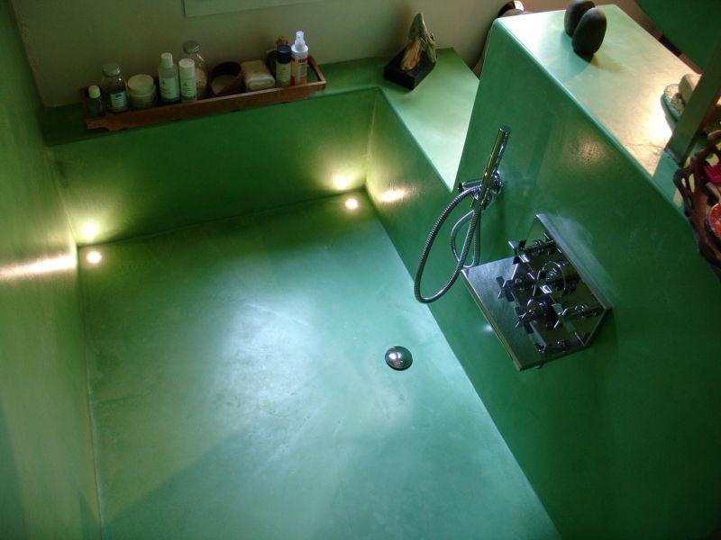 Bagno Tadelakt ~ Tadelakt bagno verde bathrooms