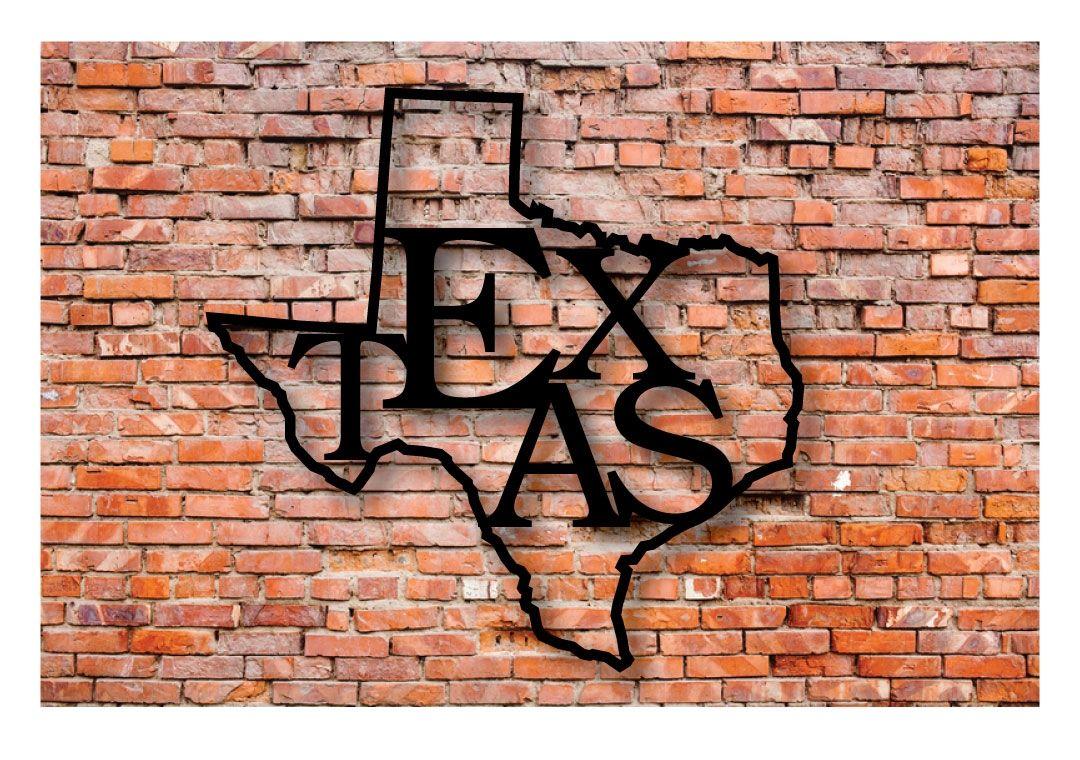 Texas State Pride Word Art