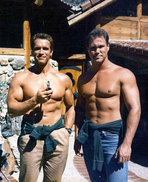 Arnold Schwarzenegger Arnold Schwarzenegger then and now Arnold - new arnold blueprint app