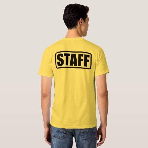 event staff shirts