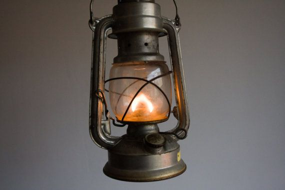 High Quality Vintage Gas Lantern, German Gas Lamp, Nightlight, Bat N 158, Made In GDR,  Black, Dark, Fire, Camp, Light, Storm, Dude, Man, Dad, Ohtteam