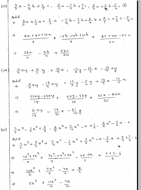 Rd Sharma Class 8 Solutions Chapter 22 Algebraic Expressions And