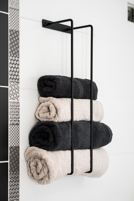 Towels Holder Solid Steel, Hand Towels Bath Towels