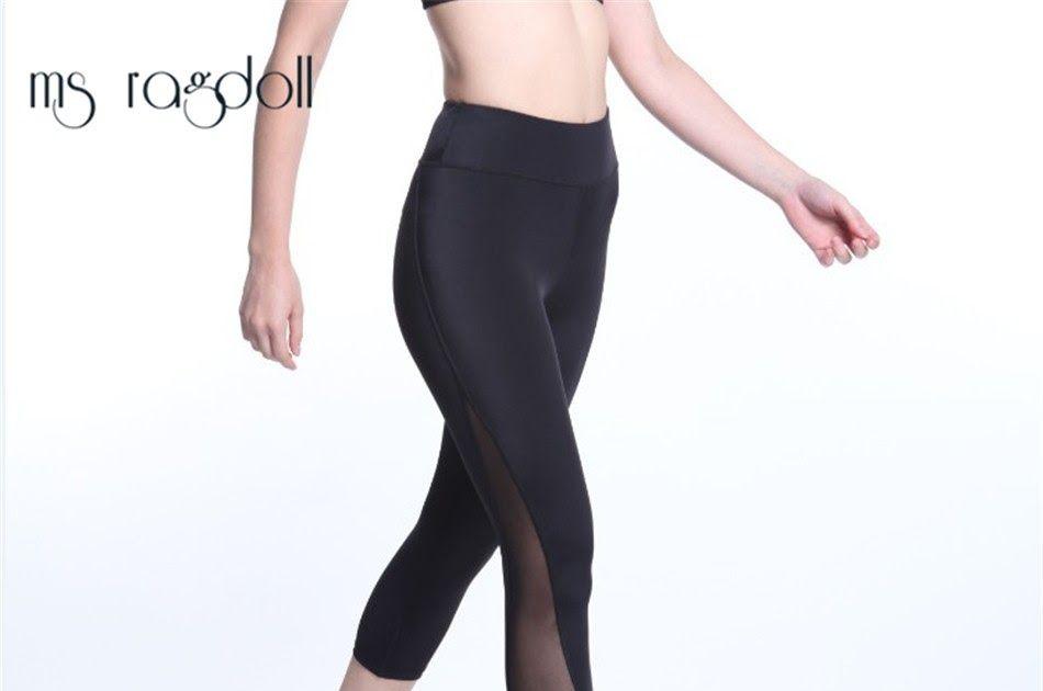 SALE Yoga Pants Workout Tights Gym Fitness Sports Leggings Running Pants  womens Yoga Pants 3 4 Length High Elasticity Sports pants bfffa1be87