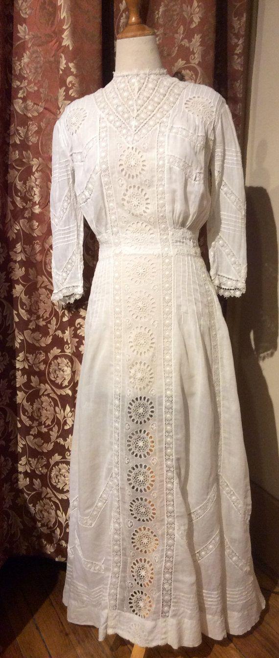 Sale! Was 450, now 399 Authentic Antique Edwardian Lace