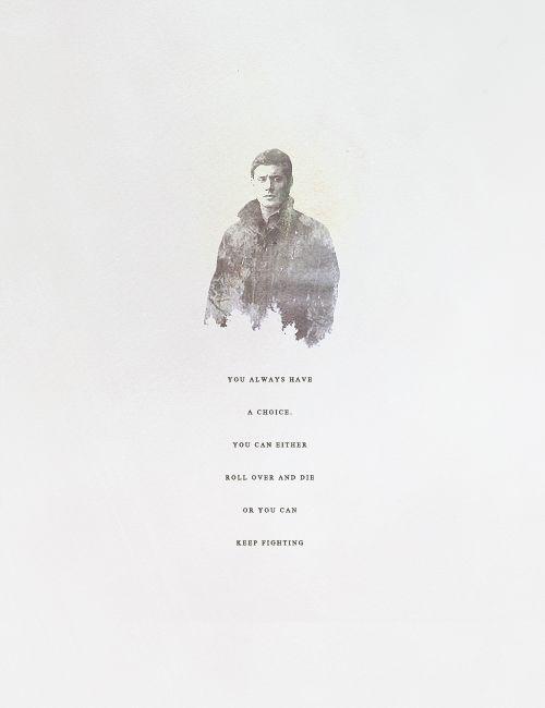 Dean Winchester | Supernatural quotes, Supernatural ...