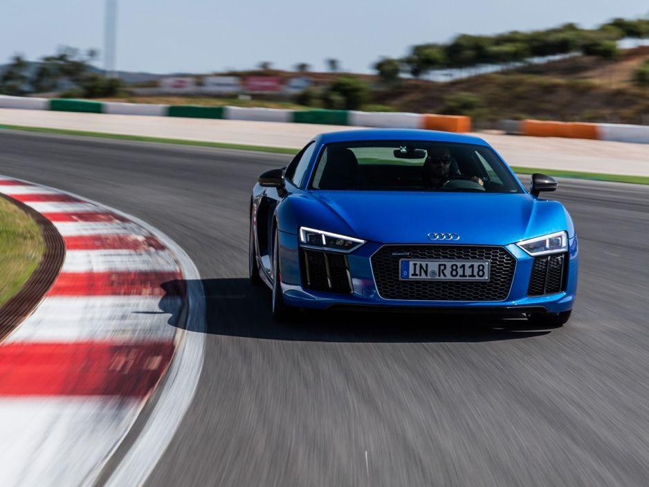 Neuer Audi R8 V10 (2015) Erste Testfahrt Autozeitung