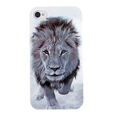 Vivid Patrón Lion Head ABS nuevo caso para el iPhone 4/4S – EUR € 3.67
