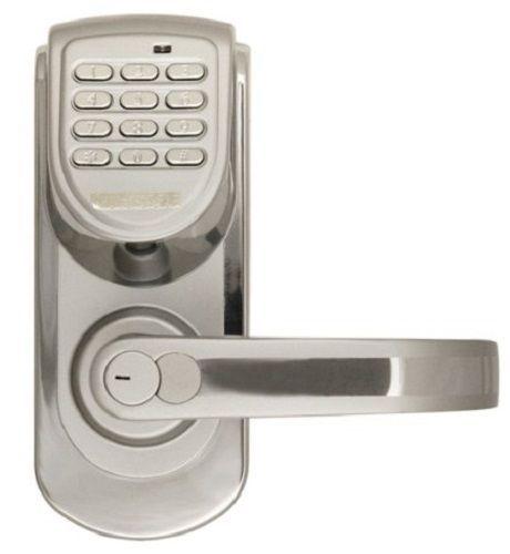 Best Digital Door Lock Right Hand Keyless 200 Code Program Silver Handle Entry G Digital Door Lock Keyless Door Lock Keypad Door Locks
