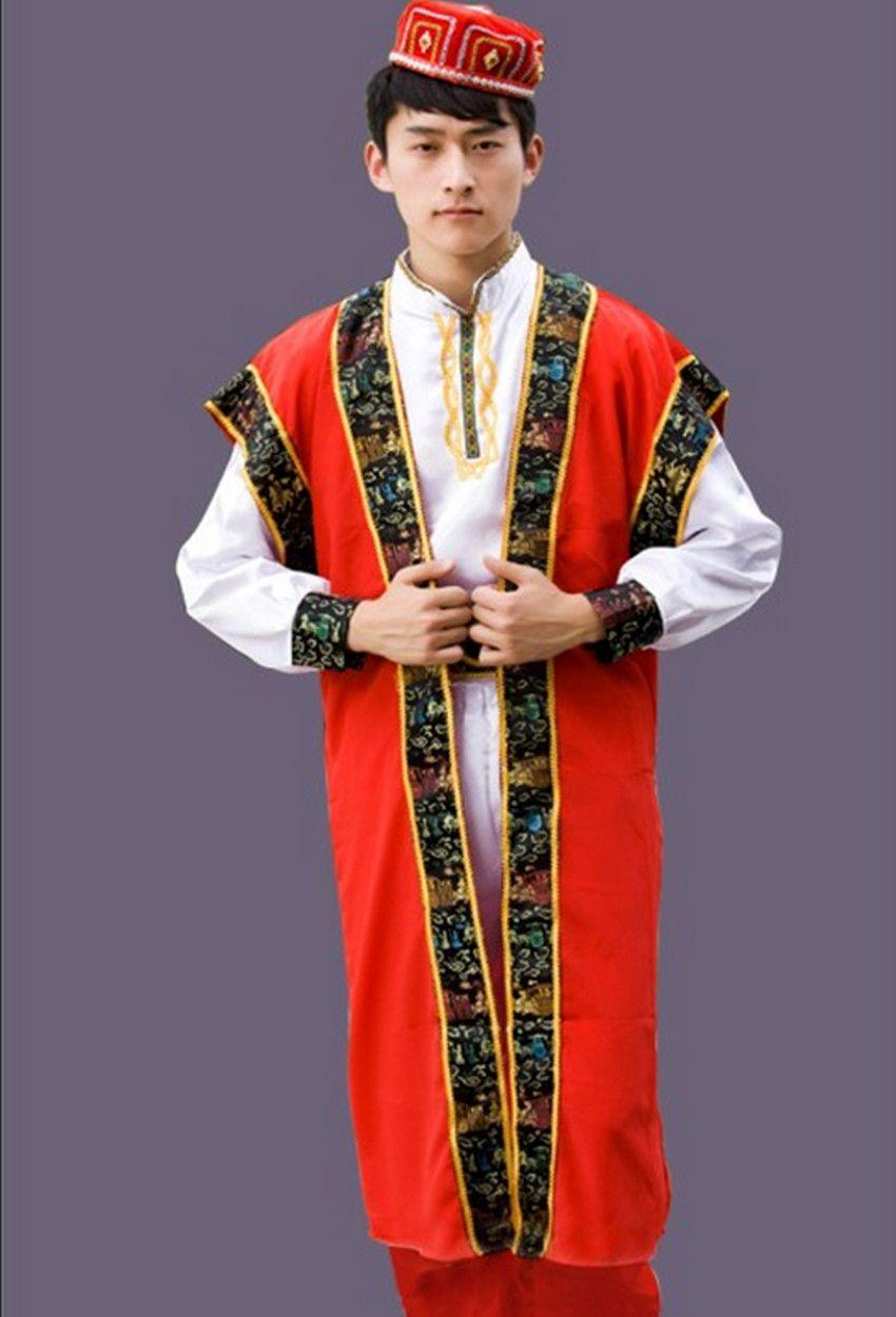 Men Kaftan Thobe Clothing Islam Apparel Clothing Muslim Male Dress Islamic Menu0027s Gowns dance stage performance  sc 1 st  Pinterest & Men Kaftan Thobe Clothing Islam Apparel Clothing Muslim Male Dress ...