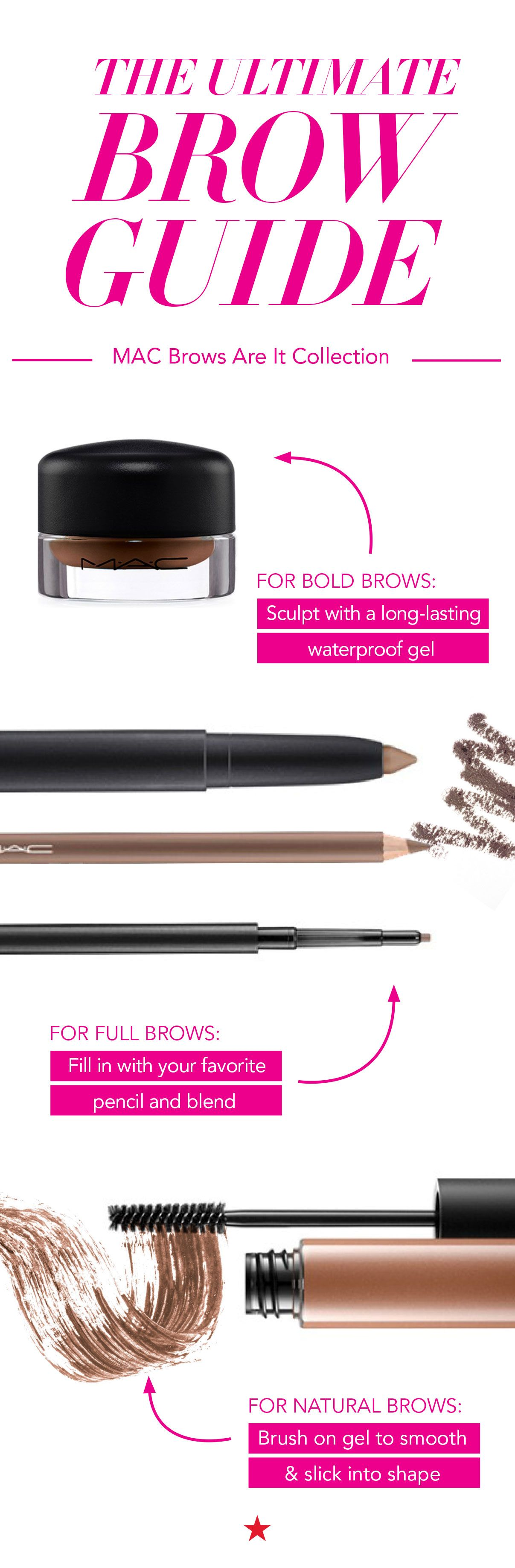 Are you trying to create a bold, full or natural brow look