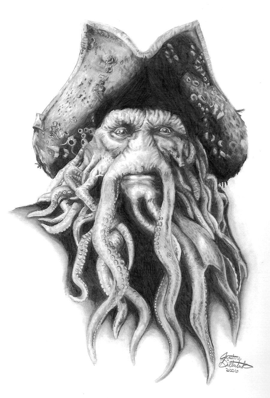 Davy Jones by FreedomSparrow3.deviantart.com on @DeviantArt ...