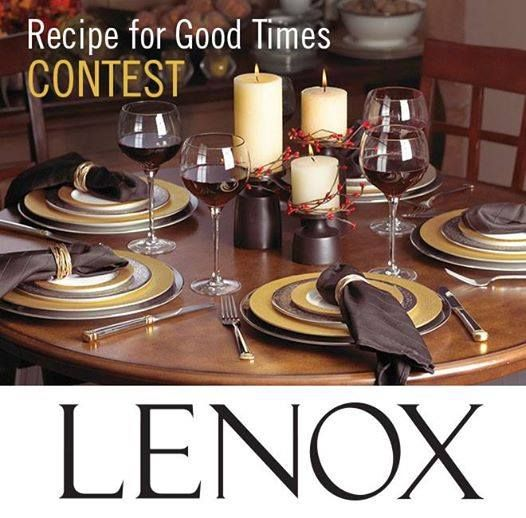 Win a Lenox Prize Package of Your Choice (valued up to $1,000)