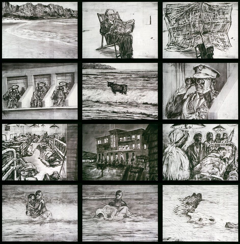 William Kentridge: Zeno Writing