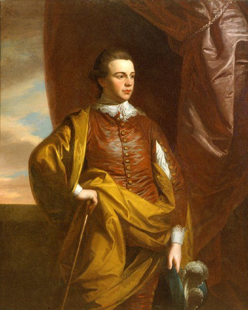Thomas Middleton of The Oaks rice plantation, near Charleston, S.C. (1753-1797) by West, Benjamin - Date: 1770