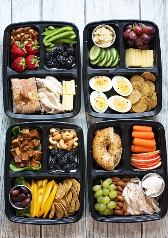 7 DIY Starbucks Protein Boxes - Busy But Healthy