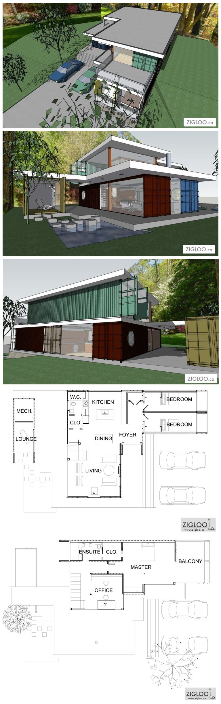 Container House - Container House - Frank Lloyd Wright (FLW ...