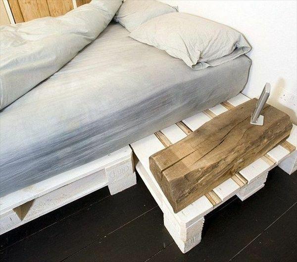 europaletten bett bauen preisg nstige diy m bel im schlafzimmer xxx pinterest. Black Bedroom Furniture Sets. Home Design Ideas