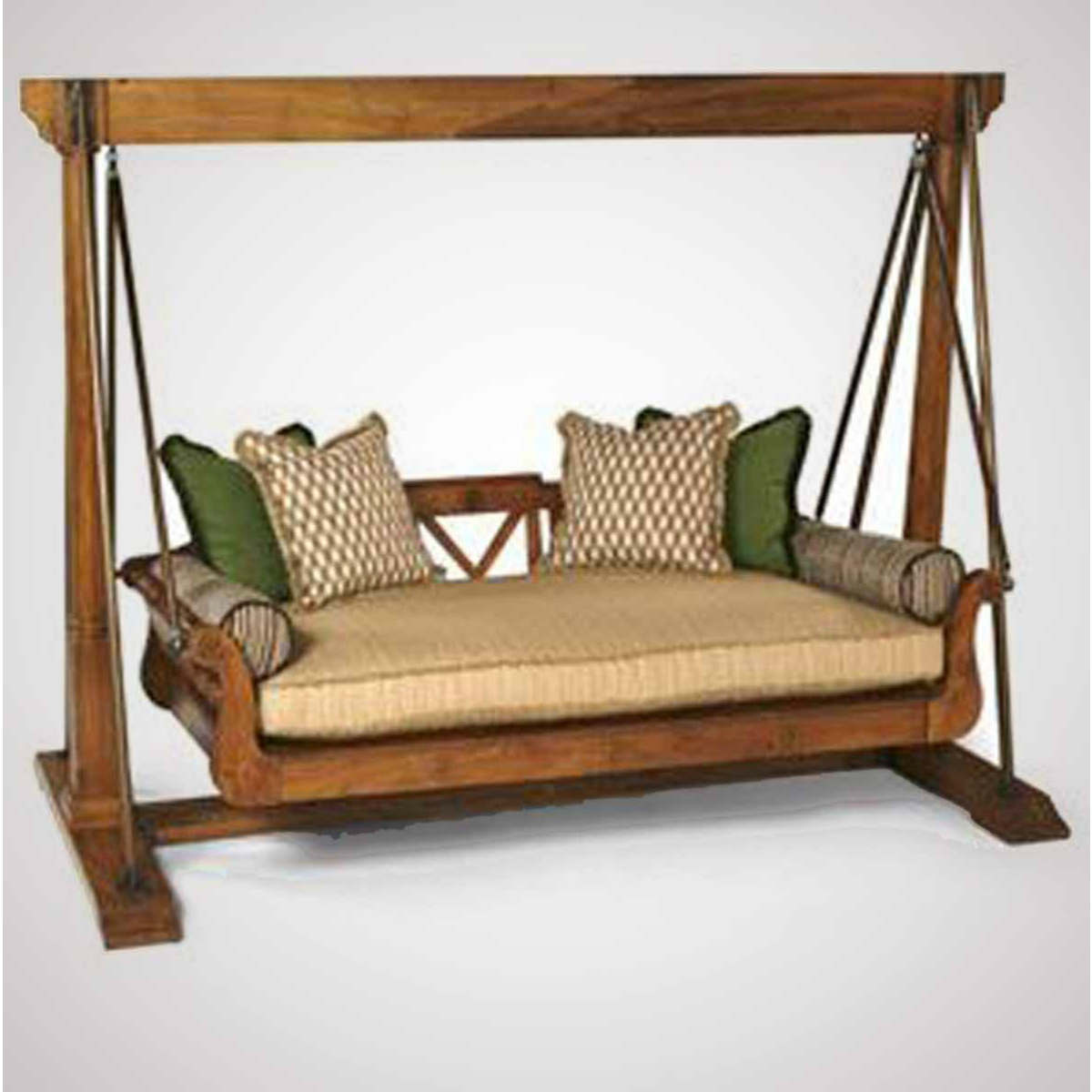 Teak Swing Bed | Jardín. Decoración | Pinterest | Sillas colgantes ...