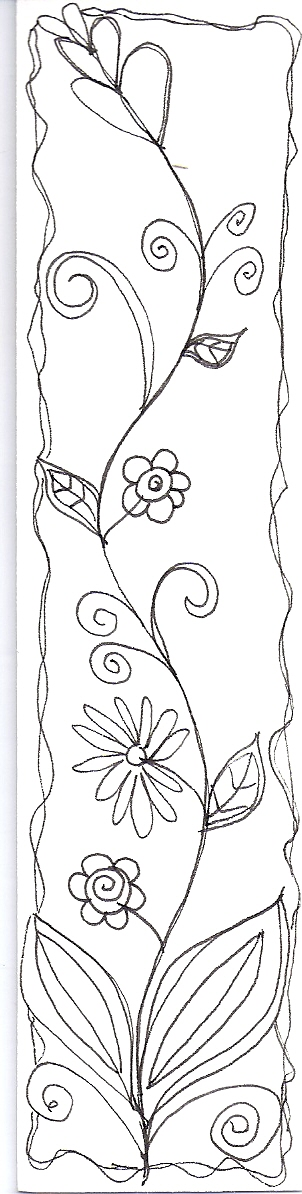Doodled para separador de libros   mis proyectos   Pinterest ...