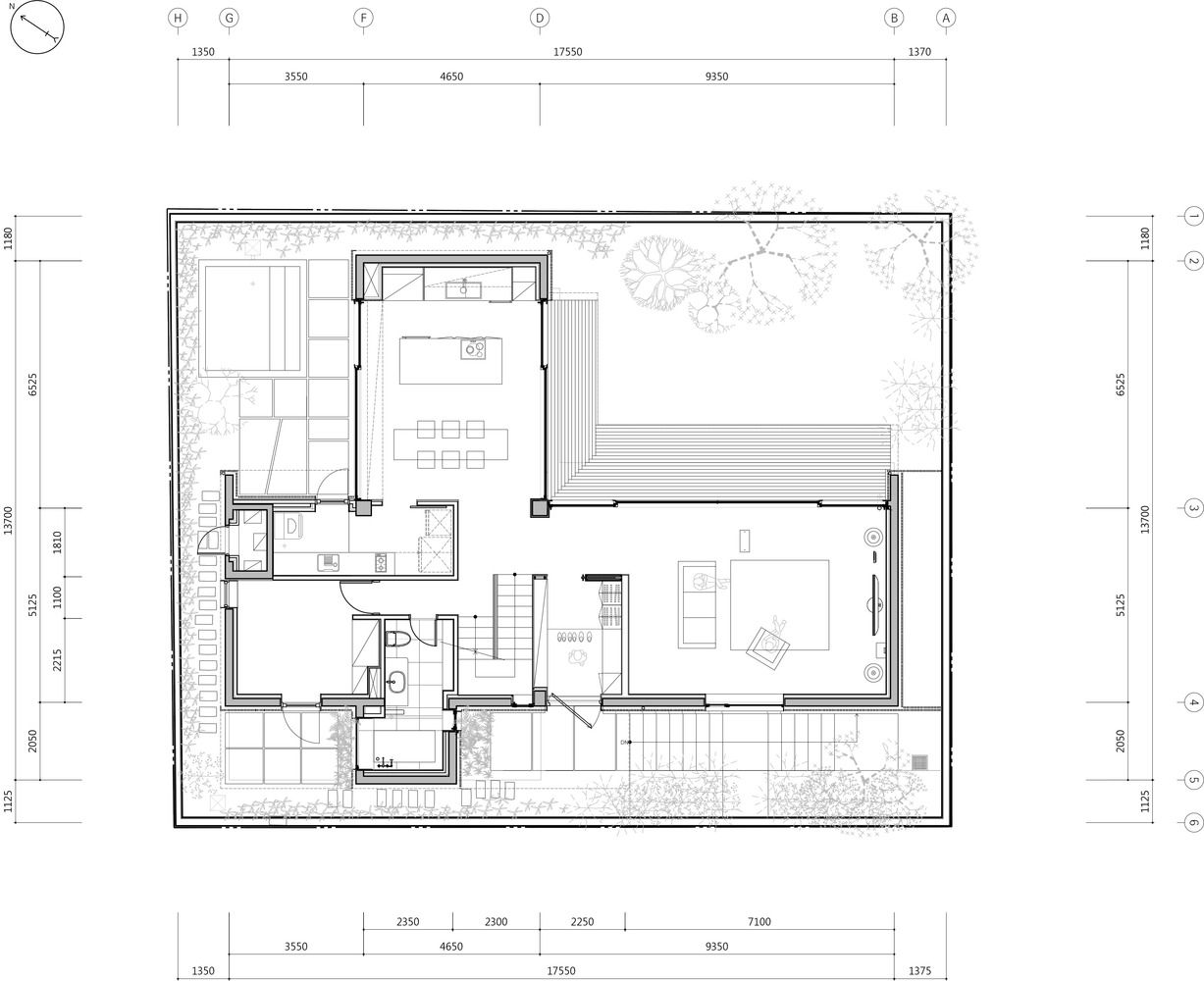 Gallery Of Red House Ison Architects 19 House Layout Design House Plans Architecture House